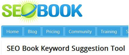 SEO Book Free Keyword Suggestion Tool